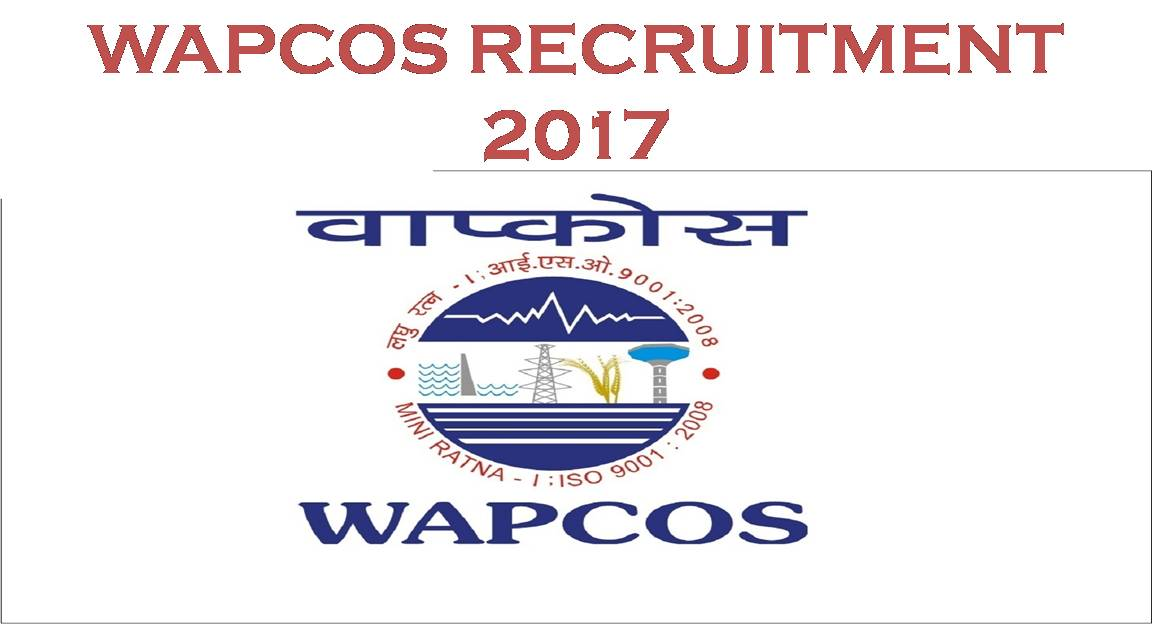 Image result for WAPCOS Recruitment 2017